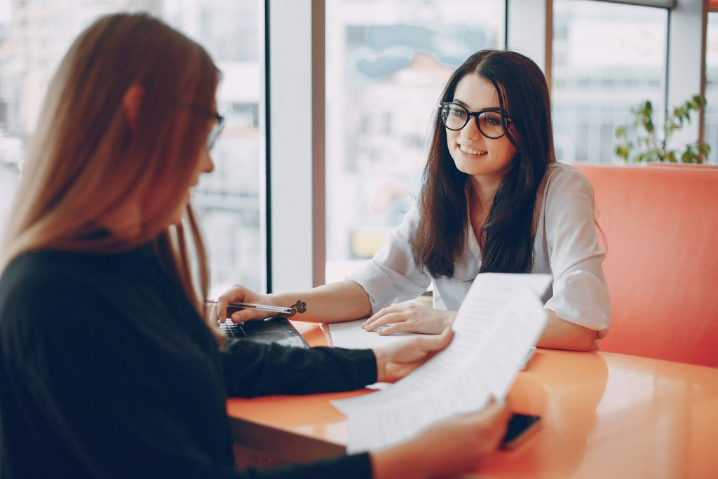 One-on-one meting between manager and employee
