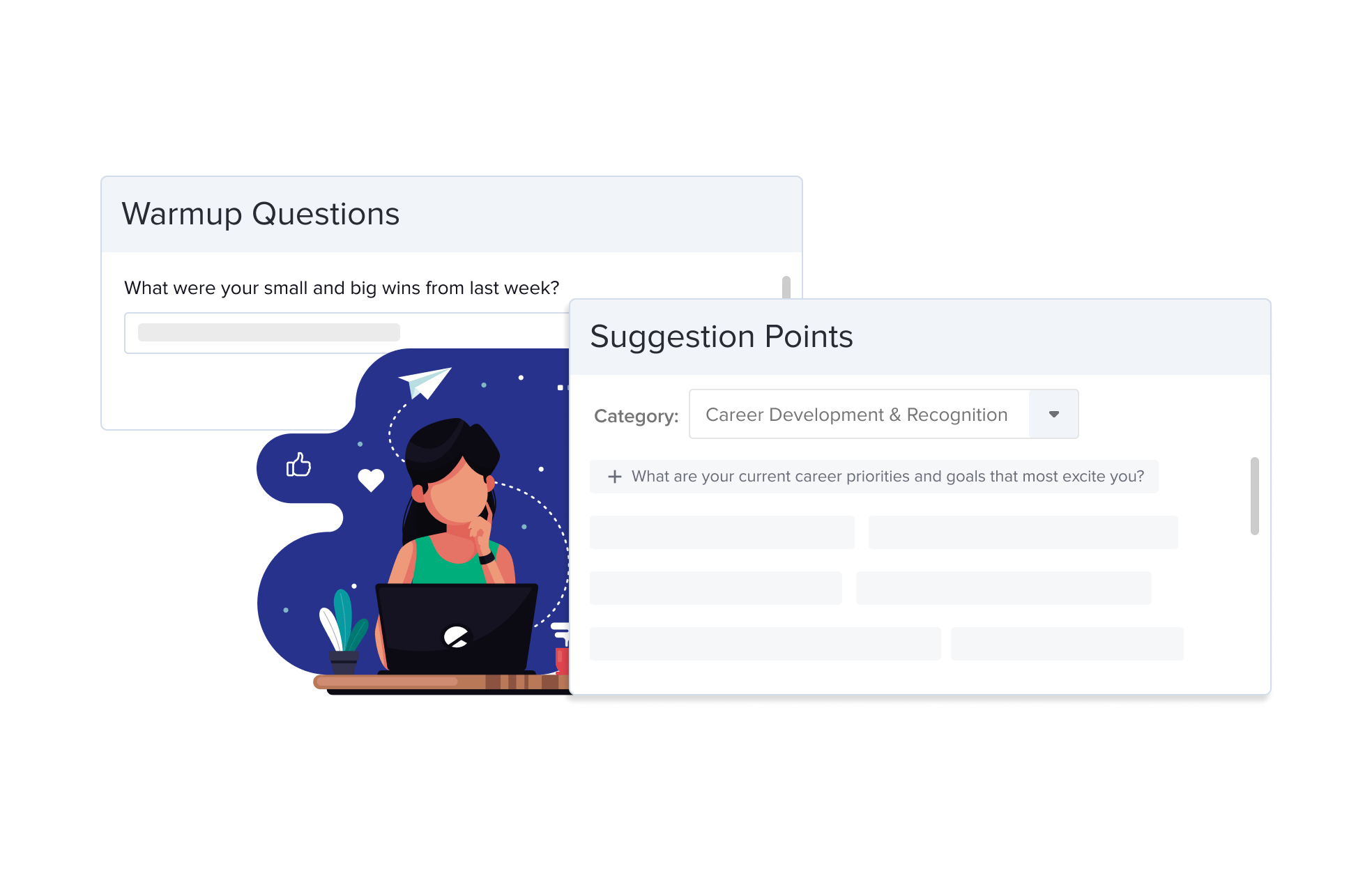 One on One Meeting Software Questions