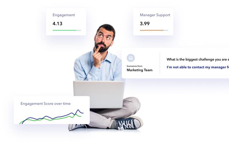 Employee Engagement & Pulse Survey tool