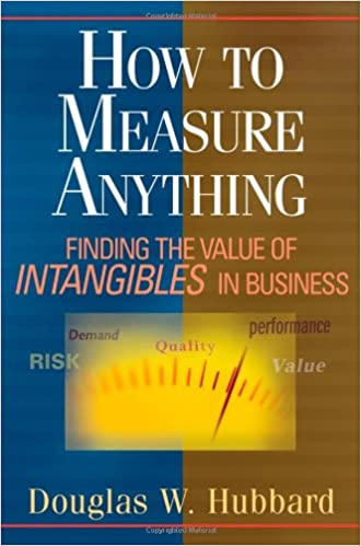 How To Measure Anything: Finding the Value of Intangibles in Business, by Douglas W. Hubbard.